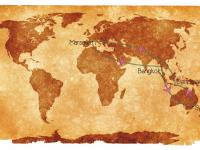 Notre itinéraire et budget pour 8 mois de voyage en 2013