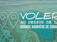Vidéo : Voler au dessus de la grande barrière de corail en Australie
