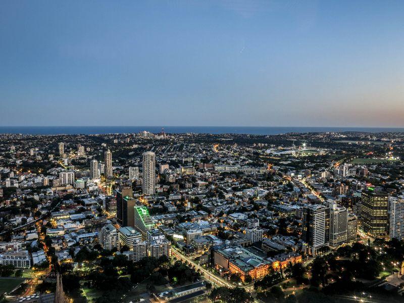 Vue de la Sydney Tower