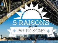 5 bonnes raisons de partir à Sydney