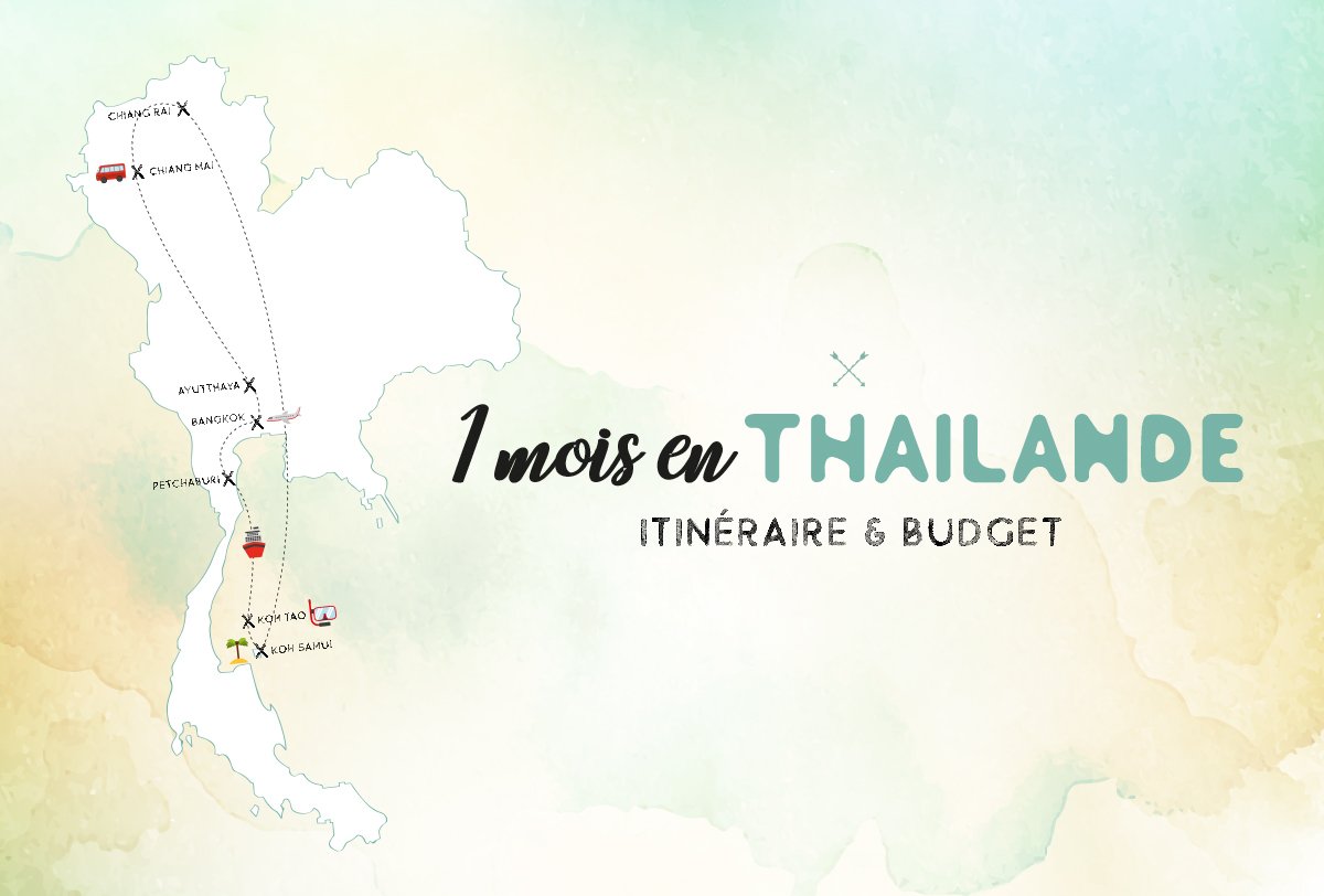 itinéraire budget Thaïlande 1 mois