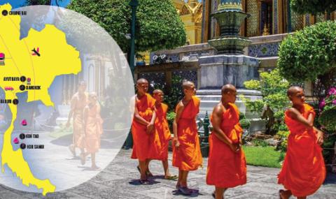 Notre itinéraire de 4 semaines en Thaïlande