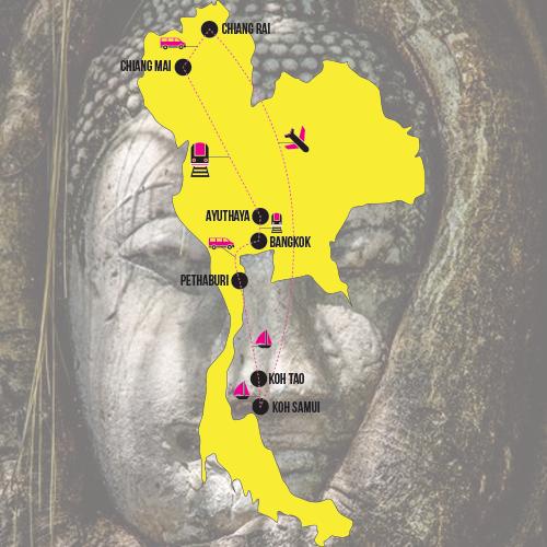 Itinéraire Thaïlande