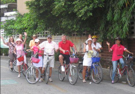 Visiter Bangkok en vélo