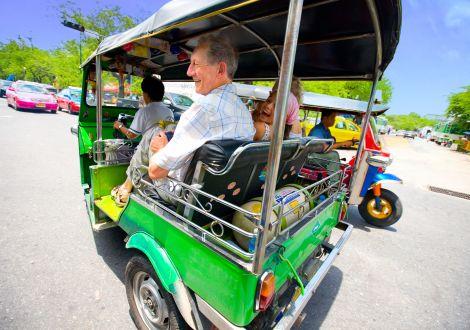 Visiter Bangkok en Tuk-tuk