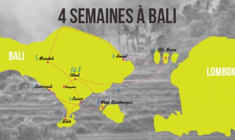 Notre itinéraire de 4 semaines à Bali