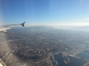 Arrivée à Marseille