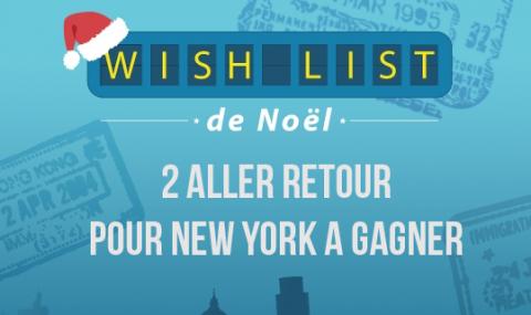 Cher papa noël, en 2015 je veux partir à… Et faire gagner un voyage à nos lecteurs!