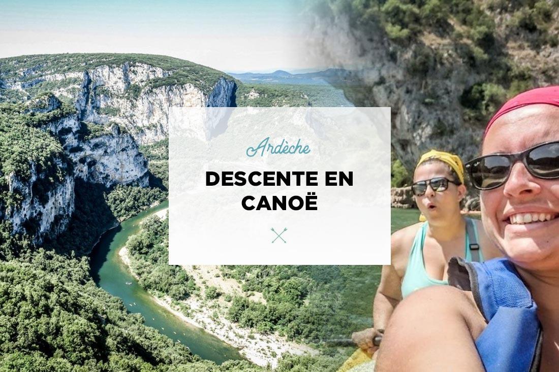 Ardèche descente canoë