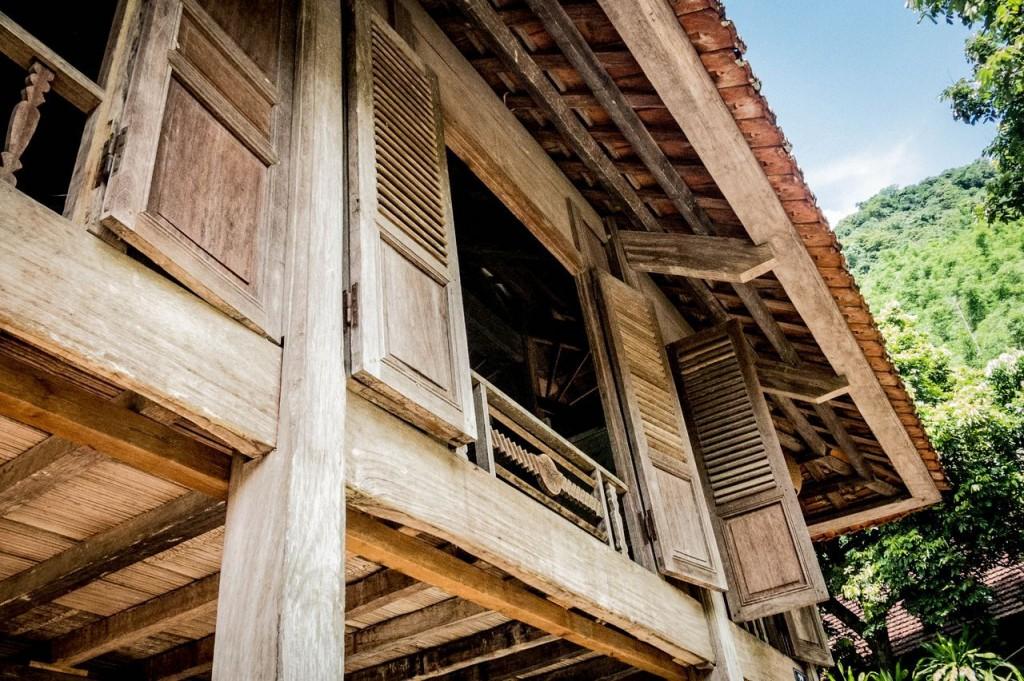 Vallée de Mai Chau-Village Van (Thaï blancs) (105)