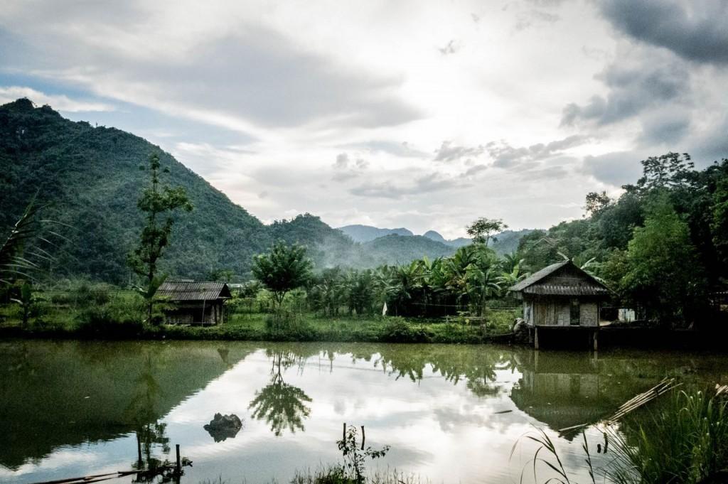 Vallée de Mai Chau-Village Van (Thaï blancs) (307)