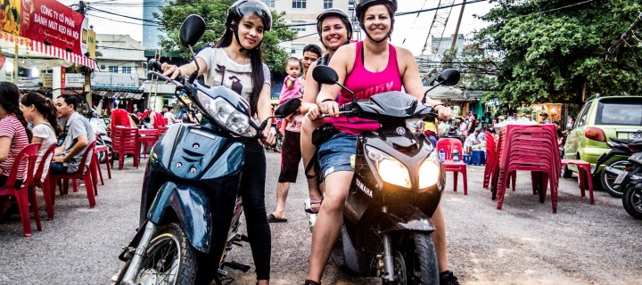 Le jour où on a visité Hanoï en scooter avec Thao