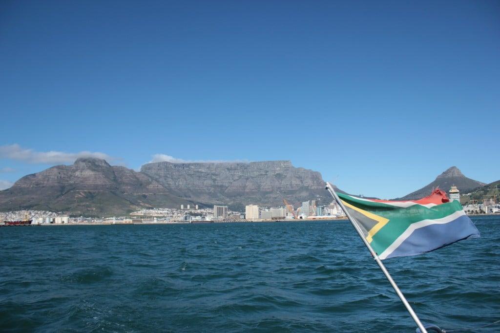 Bateau pour Robben Island