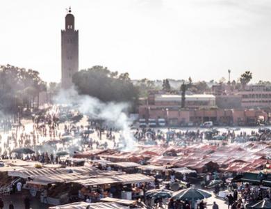 Marrakech en solo : premières sensations