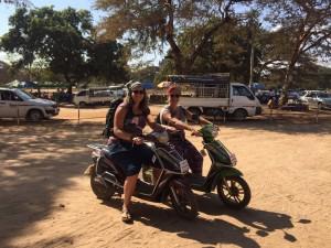 Louer un scooter à Bagan