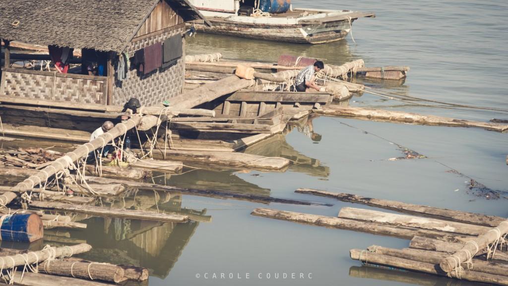 Fleuve Irrawaddy