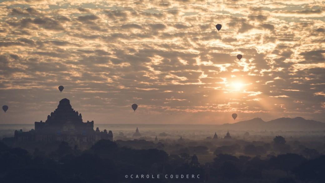 Plaine de Bagan : pleine de Pagodes, et de stupa stupéfiantes