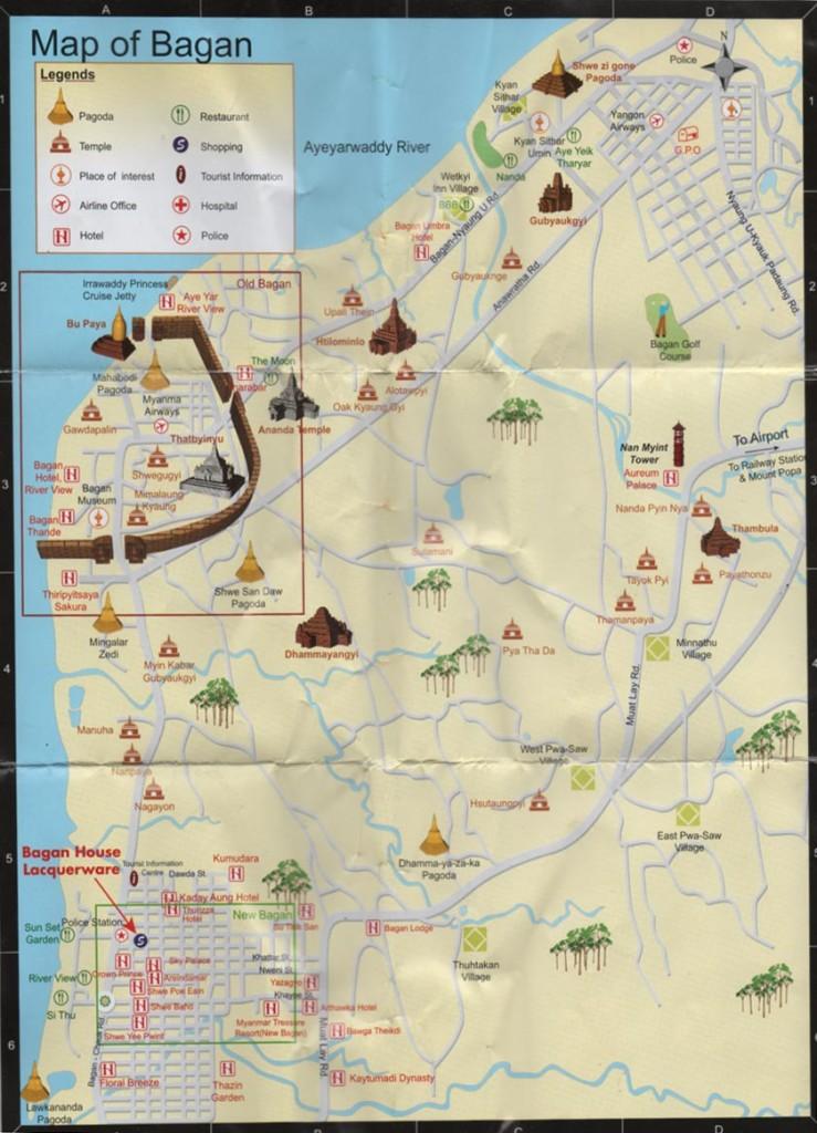 Carte de Bagan