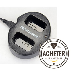 Double chargeur Newmowa pour NP-FW50