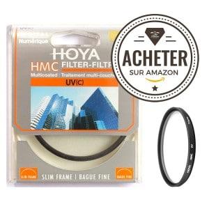 Filtre UV HOYA 49mm pour l'objectif 50mm Sony