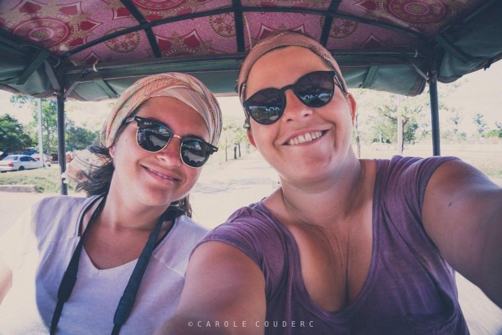 Visiter les temples d'Angkor en tuk tuk
