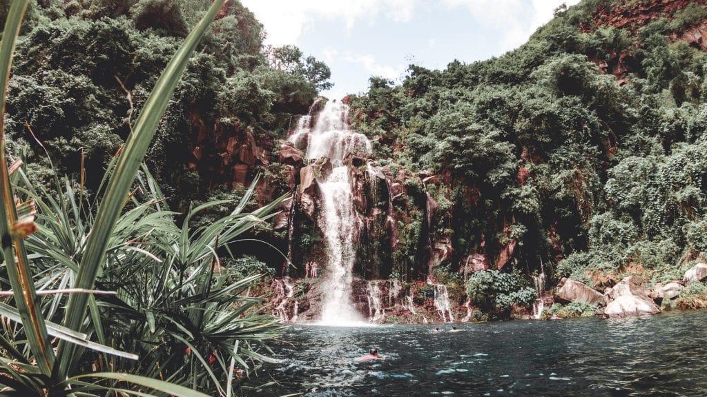Cascade bassin des aigrettes