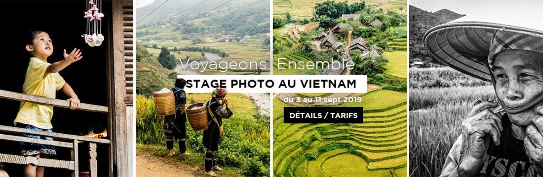 Stage Photo Voyage au Vietnam