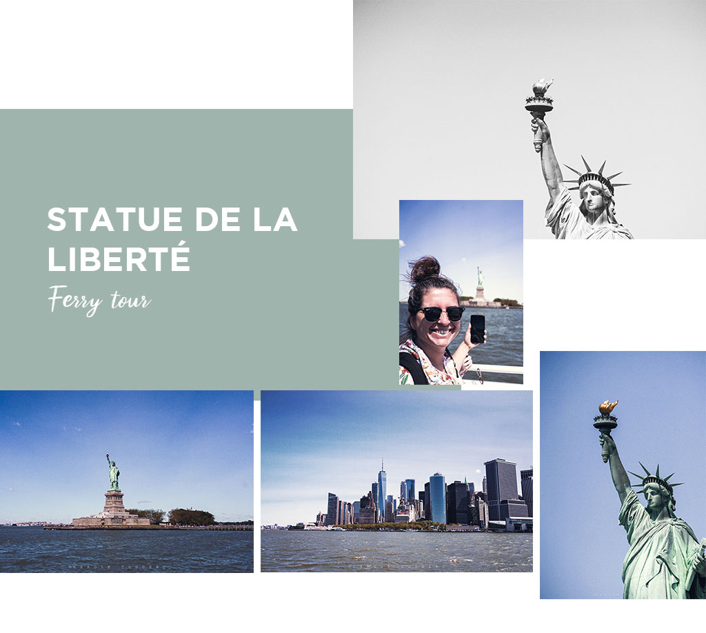 statue liberté ferry tour