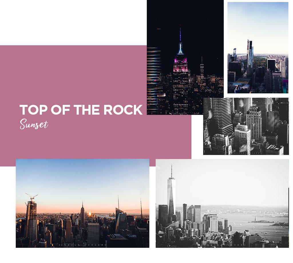 top of the rock infos