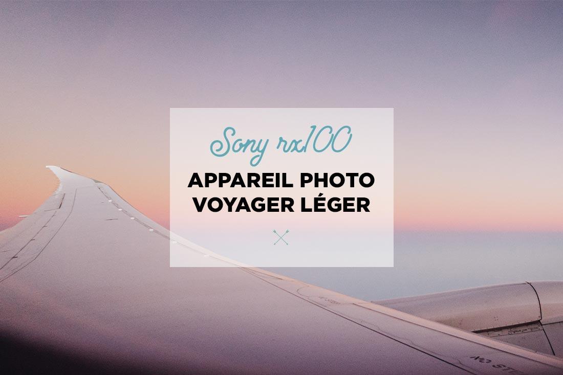appareil photo voyager léger