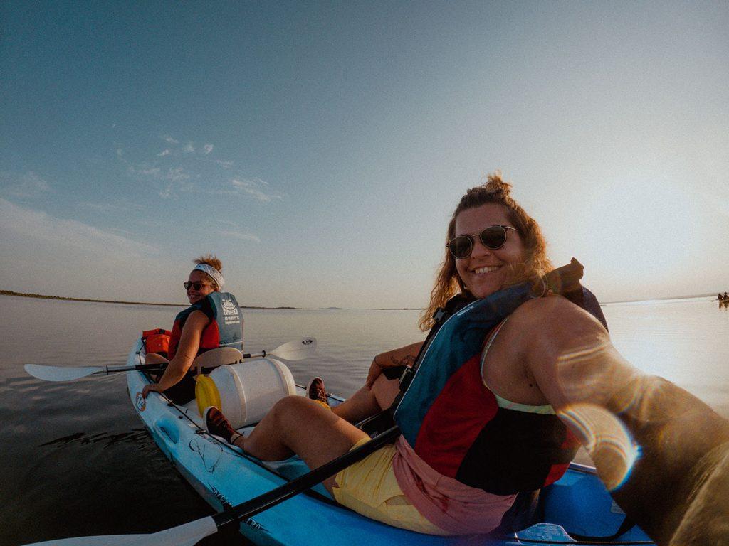 kayak etang de thau